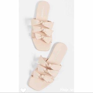 Jeffrey Campbell Atone Bow Sandal